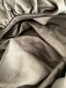 Pottery Barn Tencel Fitted Sheet Grey Queen New/open/unfolded / 60 X 80