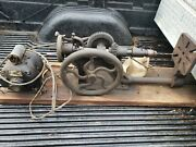 Antique Drill Press Champion Blower And Forge Co Hand Crank Cast Iron Industry