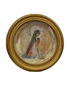 Degrazia Collector Plates Collective Item. Vintage 1978 Little Madonna