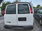 13 14 Chevy Express 1500 R. Rear Back Door W/window Stationary Glass Opt A12