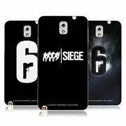 Official Tom Clancy's Rainbow Six Siege Logos Gel Case For Samsung Phones 2