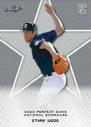 Ethan Wood 2020 1st Ever Printed Leaf Perfect Game Rookie Card 40 Mint