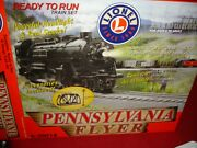 Lionel Train, Pennsylvania Flyer 6-30018 Still In The Box With Extra Track