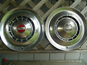 1954 Chevrolet Chevy Nomad Bel Air Biscayne Delray Impala 2 Hubcaps Wheel Covers