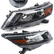 Headlights Headlamps Set For 2010 2011 2012 Honda Accord Crosstour Left And Right