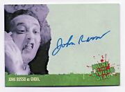 2012 Night Of The Living Dead Authentic Autograph John Russo As Ghoul A4