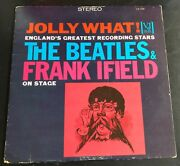 Jolly What The Beatles And Frank Ifield On Stage Stereo Vee-jay Vjs1085 Vg-