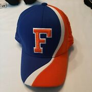 Florida Gators S/m Hat Top Of The World Embroidered Gator On Side Bold Colors