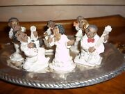 Knick Knack Blues/jazz Band Musicians/african American/negro Figurines/motown
