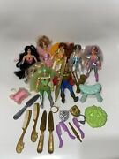 Vintage Princess Of Power 1984 Lot Of Action Figures And Accesories