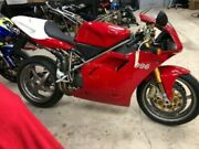Ducati 996 Sps 2001 Frame + Top Triple Clamp Limited Edition Numbered 1647