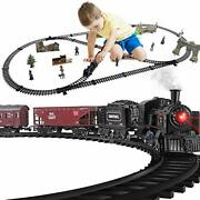 Baby Home Metal Alloy Model Train Set, Electric Train Toy For Boys 3 Carriages