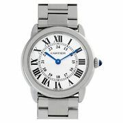 Ronde Solo W6701004 Stainless Steel Silver Dial 29mm Quartz Watch