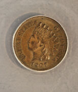 1907 Indian Cent Anacs Ms60 Brn Rpd 7/7
