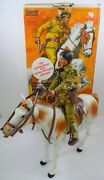 Rare Vintage Gabriel Lone Ranger Series Tonto And Scout With Original Box 1976