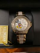 Watch Disney Limited Edition Mickey Mouse Mother Of Pearl Nwt