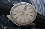 Vintage Seiko 5 Sportsmatic Deluxe 7619-9010 Diashock 25 Jewels Automatic Watch