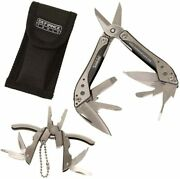 Defiance Tools Scissors Multi Tool And Pliers Keychain Combo / New And Free Shipping