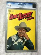 Gene Autry Comics 25 Dell Publishing March 1949 Cgc 9.0 Off-white/white Pages