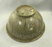 Vintage Texas Ware Bowl Confetti 118 Splatter Mixing Bowl Tan Color Pre Owned