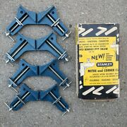 Vintage Stanley Tools Nos 404 Mitre Corner Clamp Picture Frame Wood Glue Clamps