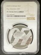 2020 G. Britain Ngc Pf70 Ultra Cameo Sandpound2 1 Ounce Silver Proof Coin Pay Attention