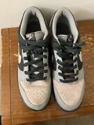Nike Dunk Low Suede Anthracite/champagne Menandrsquos Sneakers Size 13
