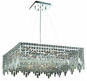 2033 Maxime Colloection Chandelier L28 In W28in H10.5in Lt12 Chrome Finis...