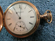 Elgin Gold Filled Pocket Watch 1902 Cwc Co Trademark 1207793 160-60-48