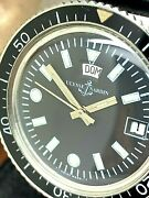 Ulysse Nardin Menand039s Watch Diver Automatic Vintage 60and039s Day Date 37mm Black Dial