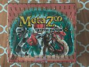 Metazoo Cryptid Nation 1st Edition Booster Box 36 Packs New Sealed In Hand   C3