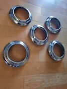 34 35 36 37 38 39 40 Gmc Chevy Ford Dodge 1 2 Ton Truck 4x4 Wire Wheel Hubcaps