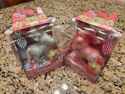 My Little Pony Mlp Sweet Summertime And Winter Snow European Exclusives Mib
