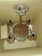 New Spectra Chandelier With Components Model 7900 Needs New Globe