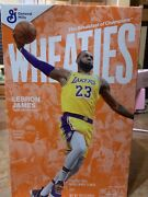 Lebron James Wheaties Cereal Limited Edition