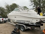 2007 Oem Searay Sundancer 240 Partial Windshield Taylor Made Starboard Side