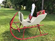 Antique One Horse Open Sleigh Excellent Condition