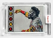 Topps Project 70 Card 422 - Ronald Acuna Jr. By Lauren Taylor - Presale