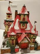Dept 56 Rt. 1 Home Of Mr. And Mrs. Santa Claus - North Pole Village
