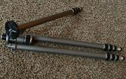Gitzo Reporter Performance Monopod / Tripod W All The Bells And Whistles 72 Extd