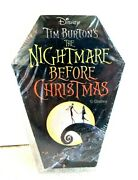 Disney Nightmare Before Christmas Coffin Shaped Playing Cards Exclusive Sealed