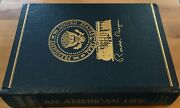 Easton Press Signed An American Life Ronald Reagan Limited Numbered 156 / 2000