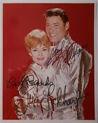 Lost In Space Guy Williams And June Lockhart Hand Signed Photo W/loa