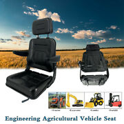 Universal Lawn Mower Seat For Tractor Forklift Loader Dozer Agricultural Vehicle