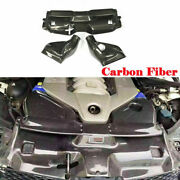 Fit For Benz W204 C63 Amg 12-14 Air Filter Intake System Cover Dry Carbon Fiber