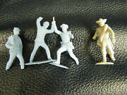 Vintage 1960's Marx Civil War Play Set Real World Wounded/broken Soldiers
