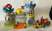 Fisher Price Little People Mighty King's Castle With Sound And Figures W/extras