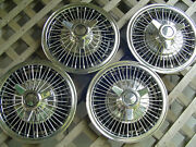 Vintage 13 Inch 1964 1965 1966 Chevrolet Corvair Hubcaps Wheel Covers Chevy Ii