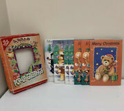 Alfred Mainzer A Bear Christmas Pop Up Greetings 7 Cards And Envelopes Bible Verse