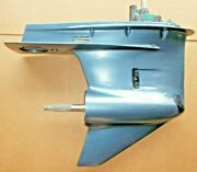 Rebuilt Lower Unit 25 Yamaha Right Hand 225 250 Hp 6p2 Four Stroke 2002-up